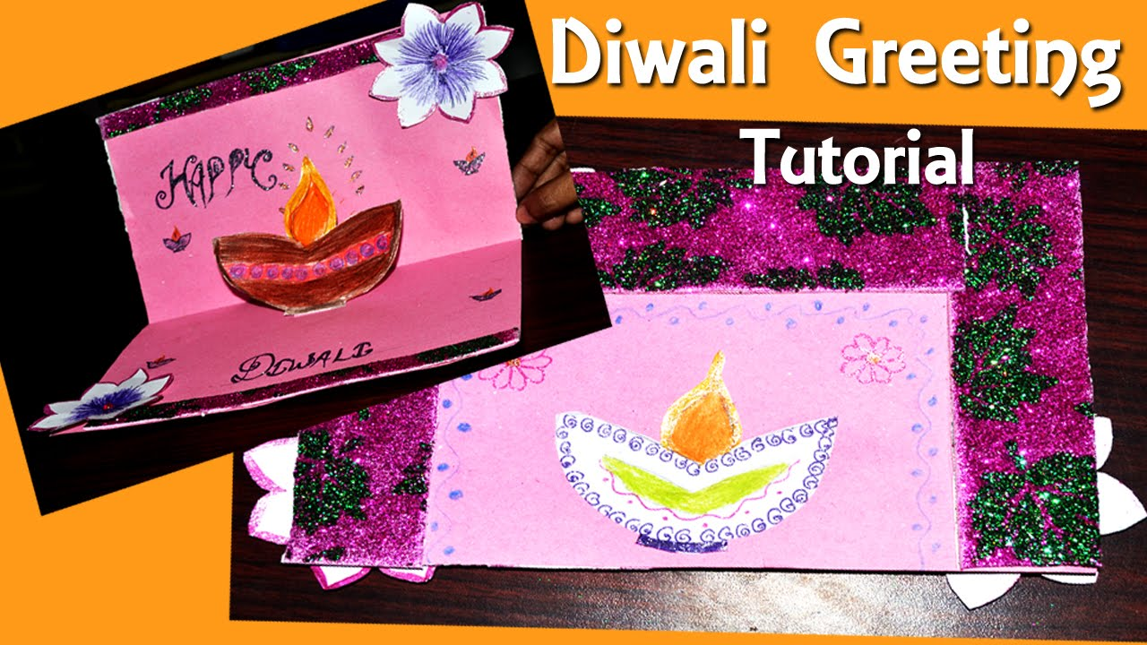 How to make diwali greeting card diy tutorial by shiksha kothari how to make diwali greeting card diy tutorial by shiksha kothari youtube kristyandbryce Gallery