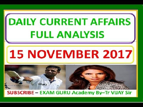 15 November 2017 DAILY CURRENT AFFAIRS-THE HINDU Newspaper- ( For- IAS,PCS,SSC,BANK,RAILWAY)
