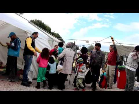 Greece Blog #1: The journey of refugees to Lesvos
