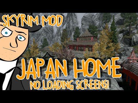 Mods of Skyrim - Japan Home! (No Loading Screens)