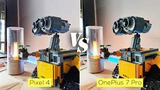 Pixel 4 vs OnePlus 7 Pro camera comparison
