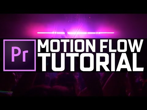MOTION FLOW TUTORIAL | Premiere Pro 2020 thumbnail