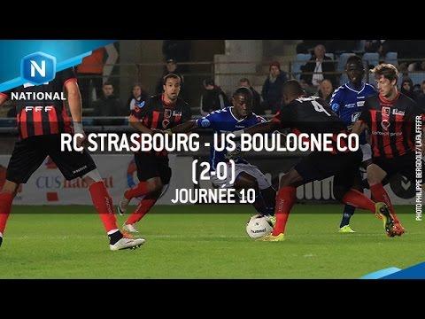 J10 : RC Strasbourg – US Boulogne CO (2-0), le résumé