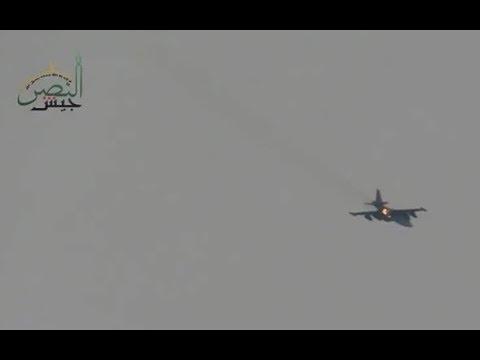 Russian SU-25 Bomber Shot Down Over Syria