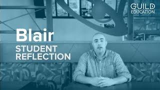 Student Reflection: Blair