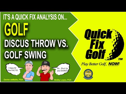 Golf Webinar - Golf Swing LIke A Discus Throw