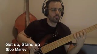 Get up, Stand up (Bob Marley) Bass Cover
