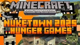 minecraft xbox 360 the hunger games map nuketown 2025 download in description