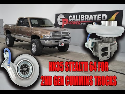 The Hx35 Stealth 64 Turbo For 2nd Gen Cummins Youtube