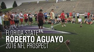 Roberto Aguayo | NFL Drafted Kicker | Tampa Bay Buccaneers