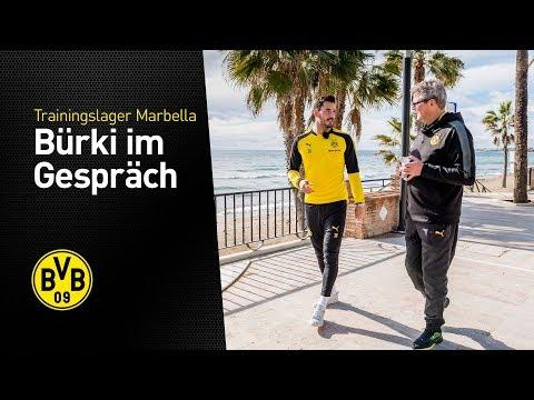 Portrait of Roman Bürki | BVB in Marbella 2018
