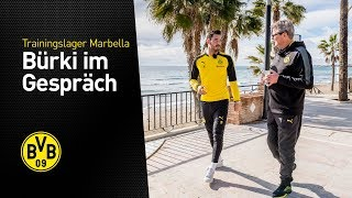 Portrait of Roman Bürki | BVB in Marbella 2018