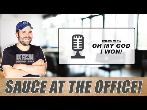 #SauceAtTheOffice: What happens when Muss is ON THE AIR?