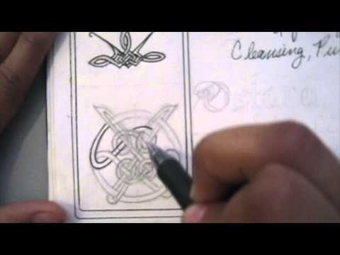 2. GLYPHS V/R Jude Direct Book of shadows