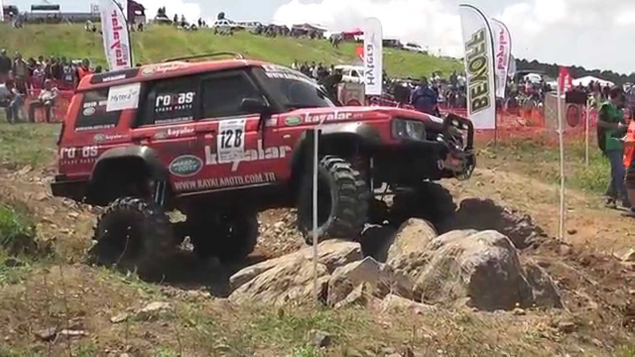 Extreme Offroad Trial Race Land Rover Discovery Td5
