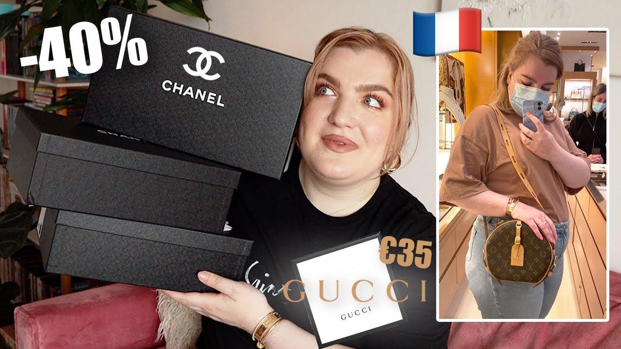 Louis Vuitton + Chanel SHOPLOG Parijs (+ Balenciaga, Gucci & Burberry outlet) | Vera Camilla
