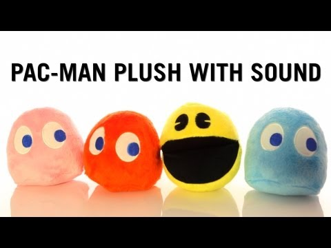 Pac-Man Plush With Sound from ThinkGeek