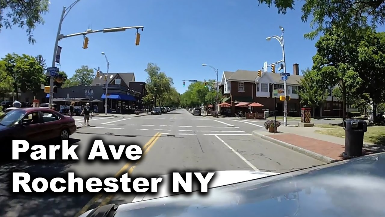 Driving Down Park Ave Rochester Ny 1080 60fps Youtube