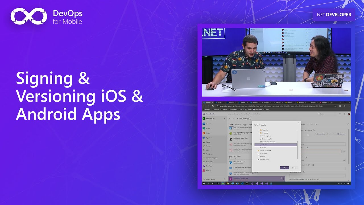 Signing & Versioning iOS & Android Apps | DevOps for Mobile