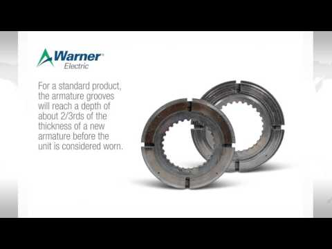 Warner Electric Normal Wear Patterns For Friction Clutches And Brakes
