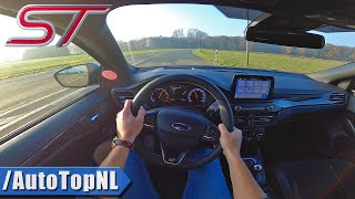 2020 FORD FOCUS ST | 2.3 TURBO 280HP | POV Test Drive by AutoTopNL