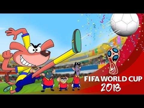 Rat-A-Tat |'Mice Football Fans + Magic Pen 1 Hour Non stop Fun'| Chotoonz Kids Funny Cartoon Videos