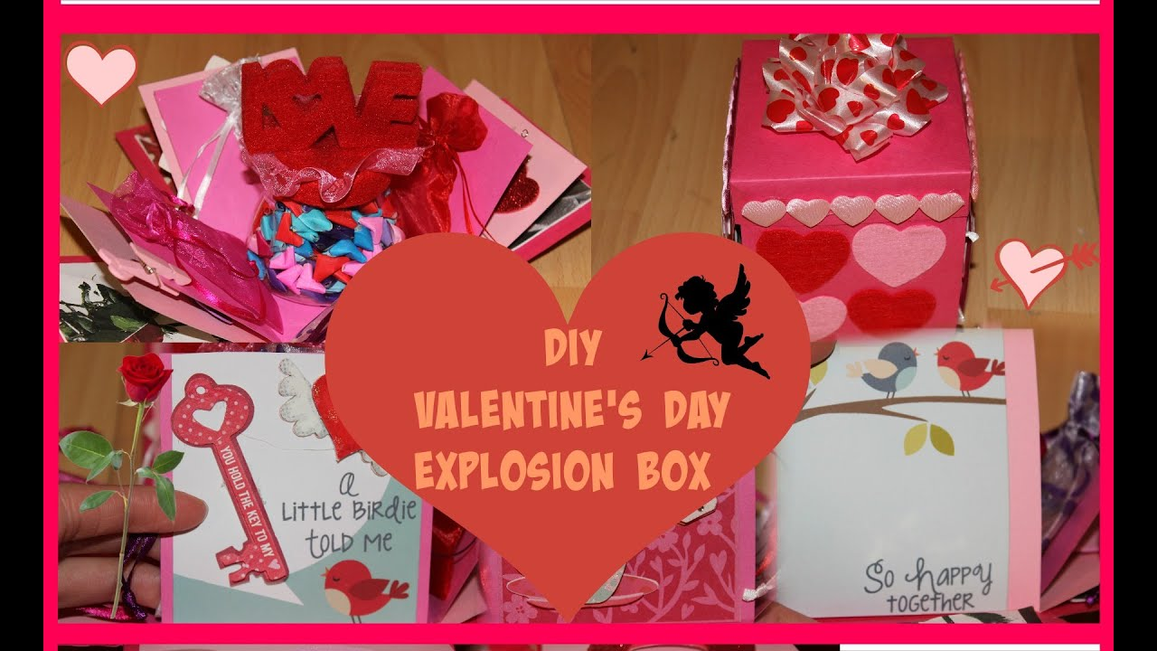 Diy valentine 39 s day ideas how to make an explosion box for Valentines day ideas seattle