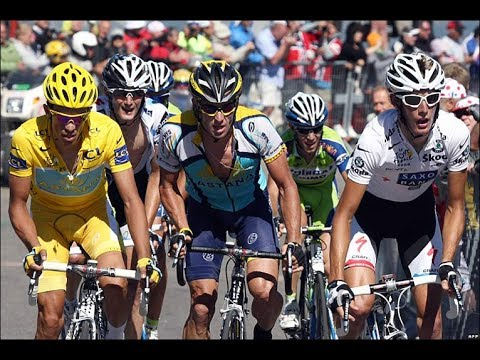 Lance Armstrong VS Alberto Contador & The Schlek Brothers