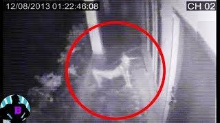 5 реальных призраков, заснятых камерами безопасности Часть 2