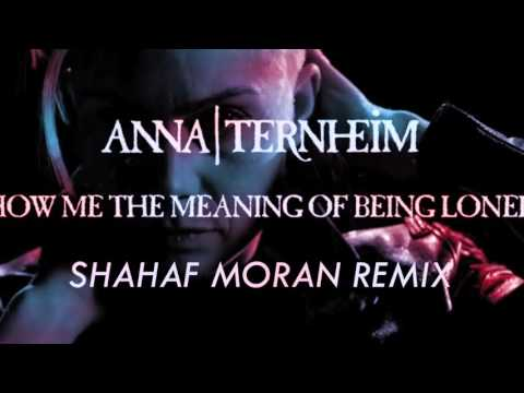 Anna Ternheim - Show Me The Meaning Of Being Lonely (Shahaf Moran Remix)