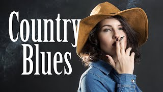 Country Blues - Relax Slide Guitar Blues Music for Evening - Bourbon Whiskey Blues