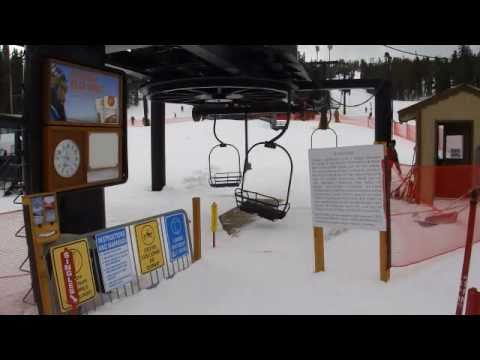 Snowboarding at Eldora Mountain Resorts, Nederland, Colorado
