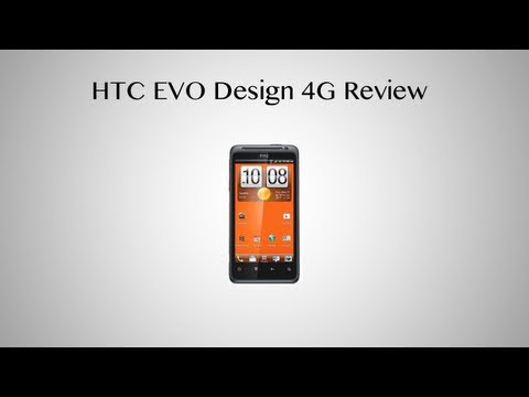 HTC EVO Design 4G Boost Mobile Review