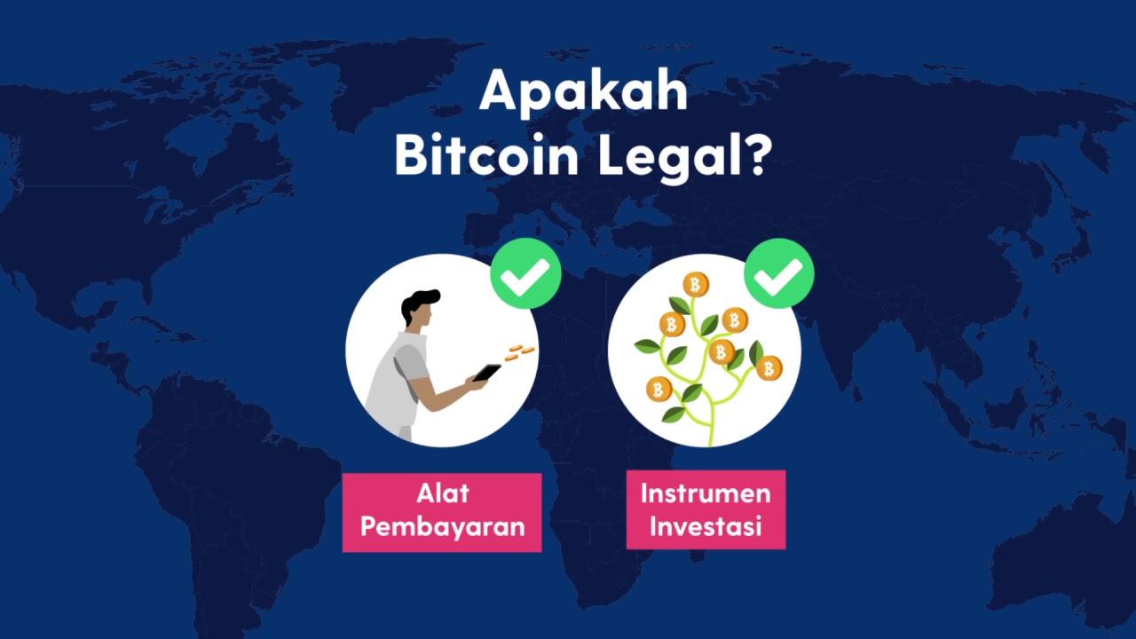 apakah bitcoin indonesia legal