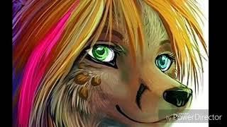 Картинки собак аниме