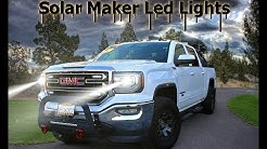 Cab Marker Lights Install Cab Over America Solar Marker Lights