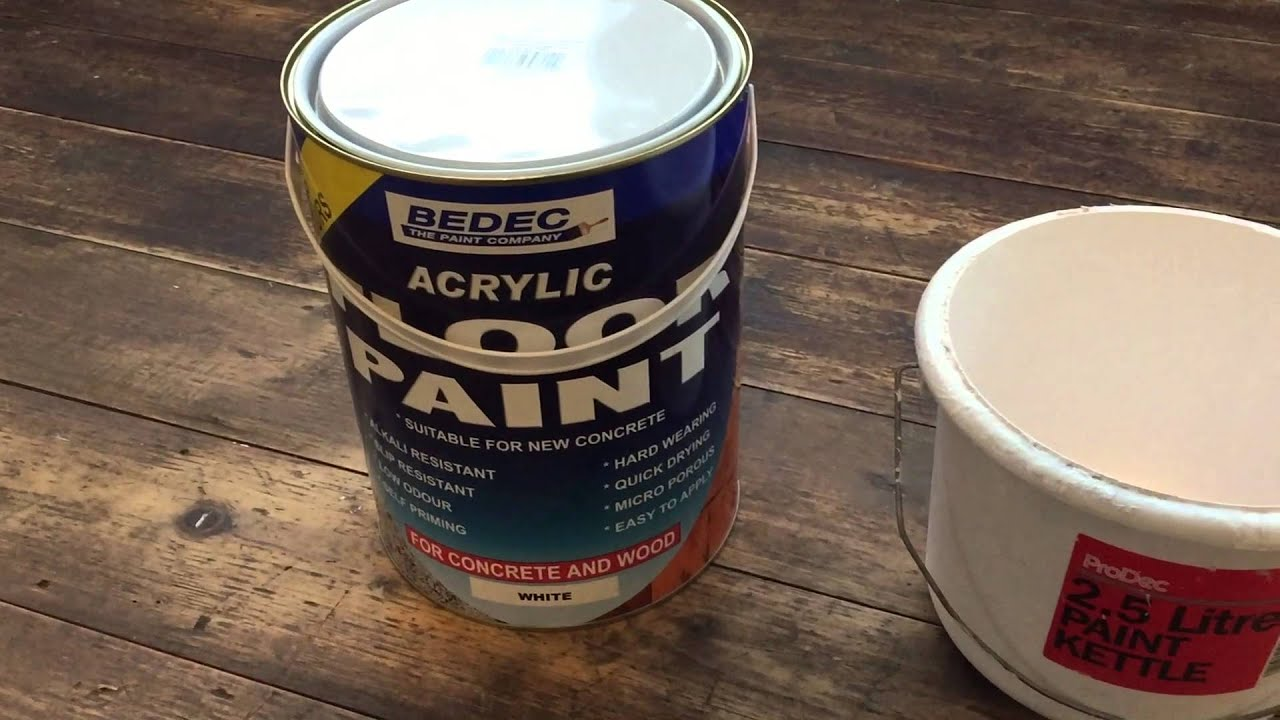 painting a wooden floor youtube - Paint The Floor