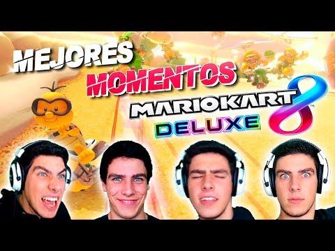 MEJORES MOMENTOS MARIO KART 8 DELUXE | Especial Aniversario RK | Sliver