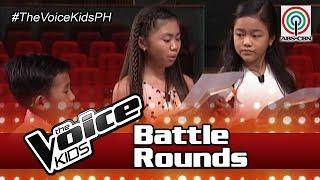 Team Lea Battle Rehearsal: Maegan vs Joshua vs Natalie