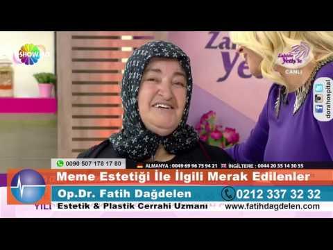 Meme Operasyonu geçiren Gülsen hanımın Zahide Yetişle'deki mutluluğu