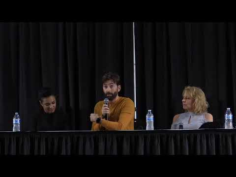 David Tennant And Freema Agyeman From 'Dr. Who' At Motor City Comic Con
