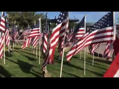 MS S reporting live at 13th Annual Tempe Healing Field part1