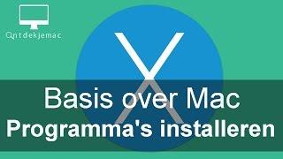Basis ove Mac - Programma's installeren