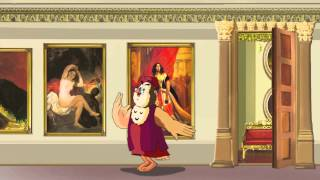 Казки картинної галереї - Карл Брюллов (8 серія) (Уроки з тітонькою Совою)