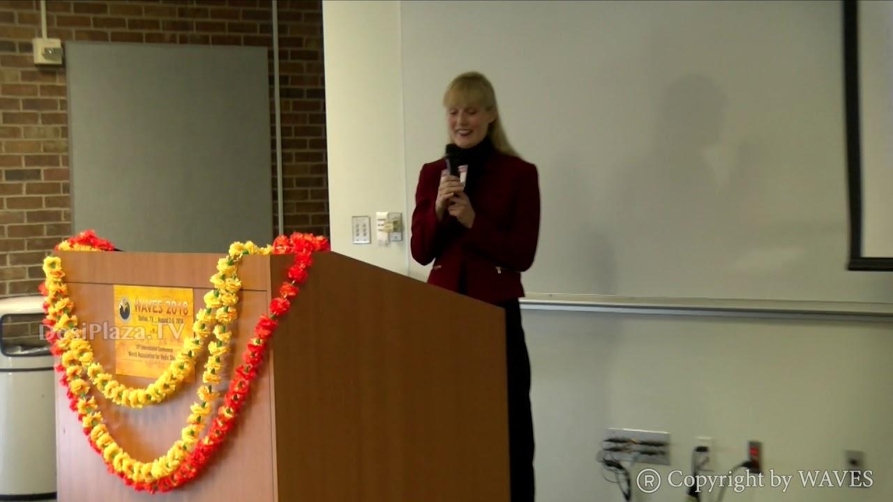 Dr. Krista Noble's talk at WAVES  Dallas, Texas - 2018.