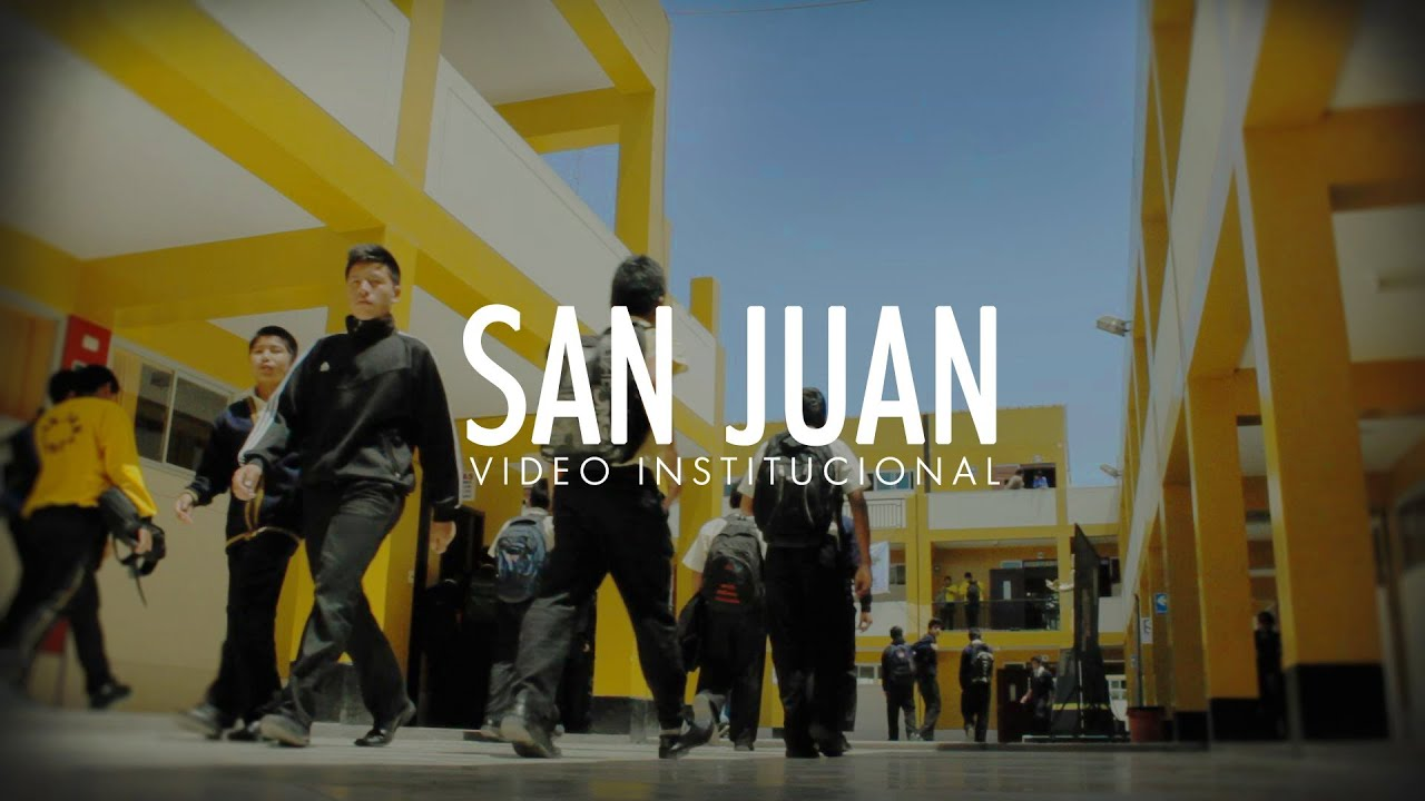 Colegio San Juan Video Institucional 2014 Youtube