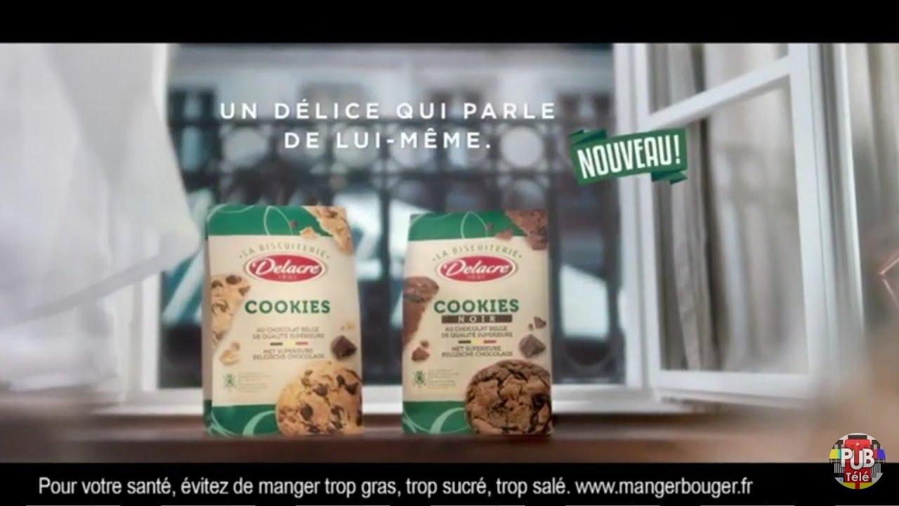"""Musique de la pub Nouveaux cookies Delacre """"un délice qui parle de lui-même""""  2021"""