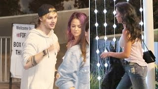 Michael Clifford Of 5SOS, Hailee Steinfeld And Friends Attend John Mayer Concert