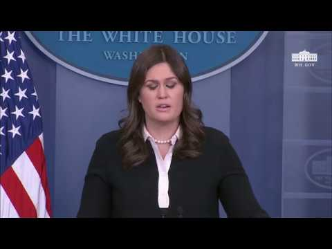 1/17/18: White House Press Briefing