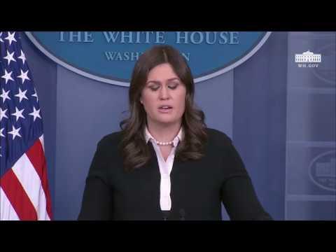 1/17/18: White House Press Briefing